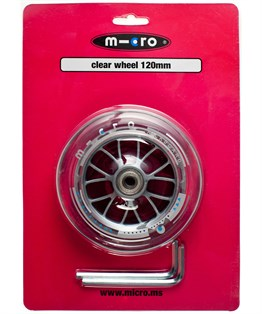 CLEAR WHEEL 120mm