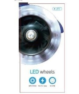 MICRO SCOOTER LED WHEEL MINI MICRO 120 MM SET